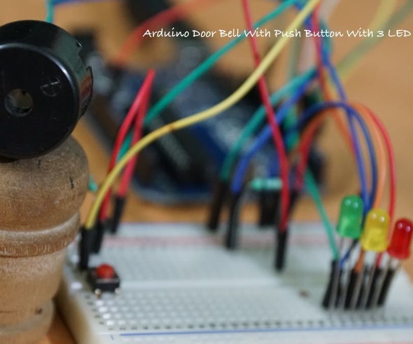 Arduino Door Bell With VU Meter