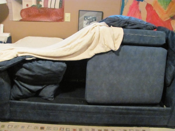 Build a Fort Out of a Couch