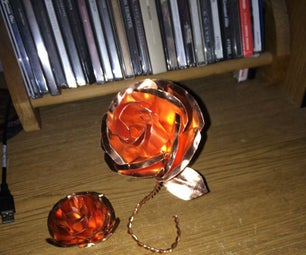 Copper Flowers Just in Time for the Holidays (No Welding or Forging Equipment Needed)