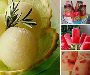 Yummy Frozen Pops and Sorbets
