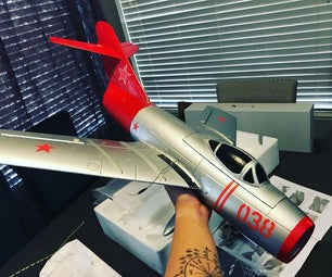 How to Assemble and Upgrade Freewing MiG-15 to 4S Power System