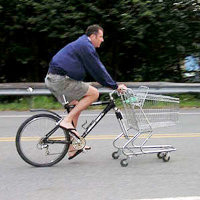 Shopping Cart Bike