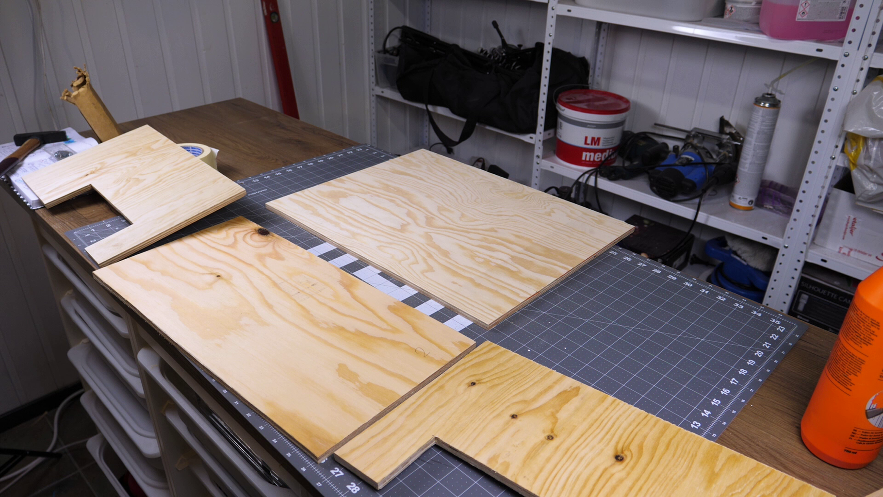 Cutting Out the Plywood