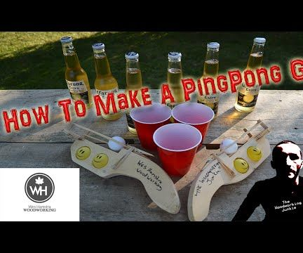 How to Make a Ping Pong Gun