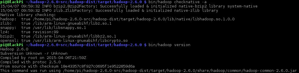 Building Hadoop 2.6.0