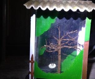 Bird Feeder-Fairy Tree With Swing