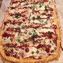 Cauliflower Crust BBQ Chicken Pizza