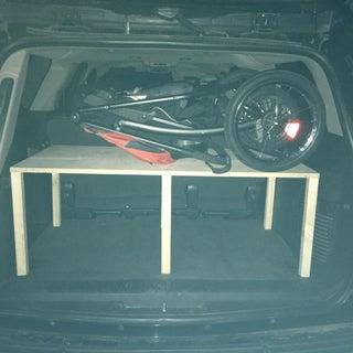 Handy Pop-up Trunk Shelf