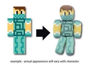 Order Your Own Minecraft Skin Plush