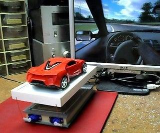 DIY Arduino 2d Motion Racing  Simulator