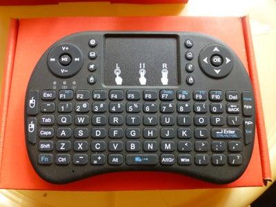 Wireless Keyboard With Trackpad