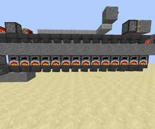 Minecraft- Industrial Furnace (super Smelter) in Vanilla Minecraft