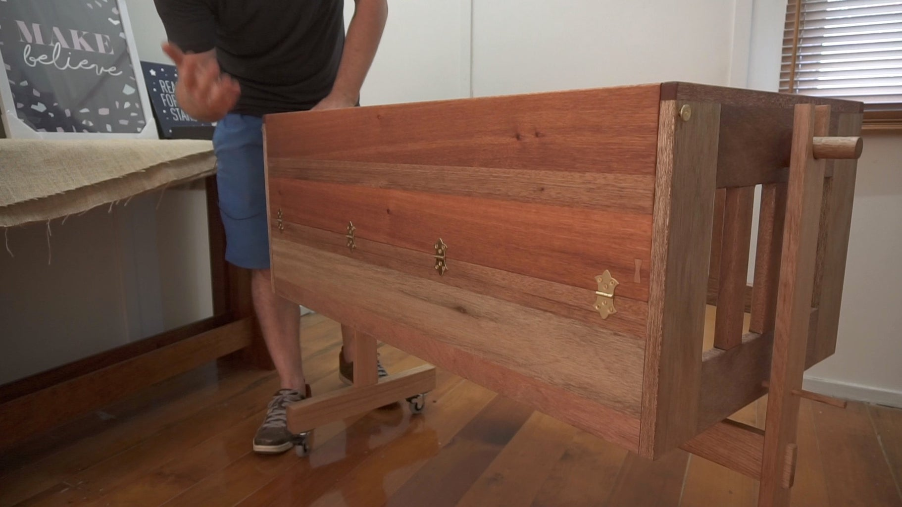 Add the Hardware/Mechanicals to the Bassinet