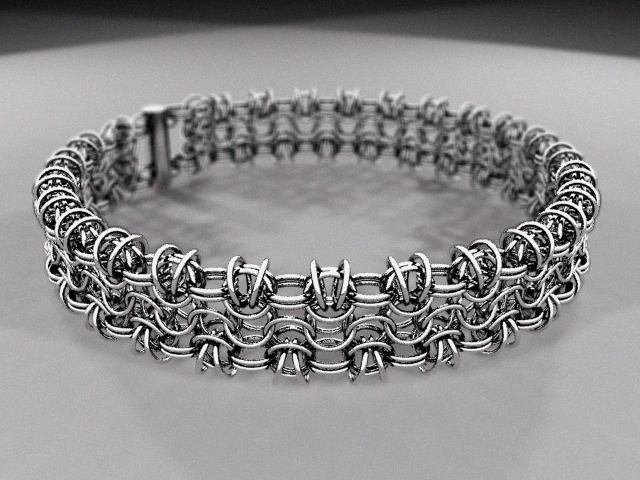 ChainMaille: Byz 4in1 Tube Chain