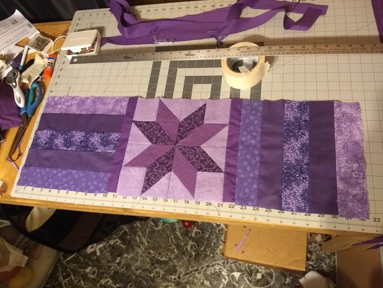 Assembling Quilt Top