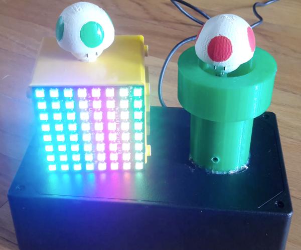 LED Nintendoscape