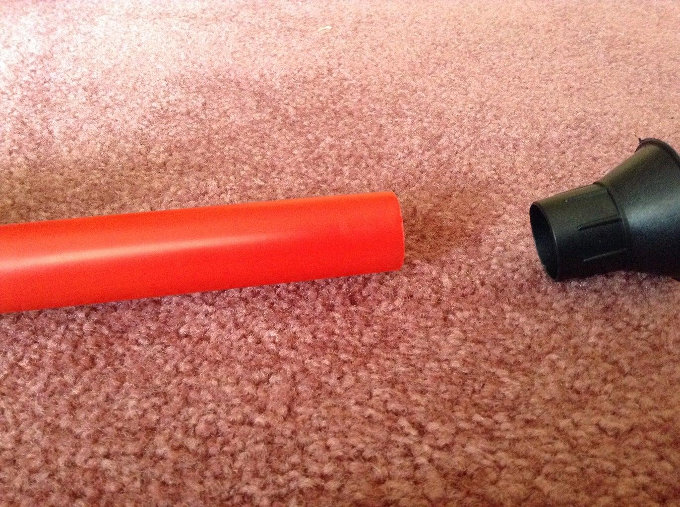 Disassembling the Ninja Blowpipe