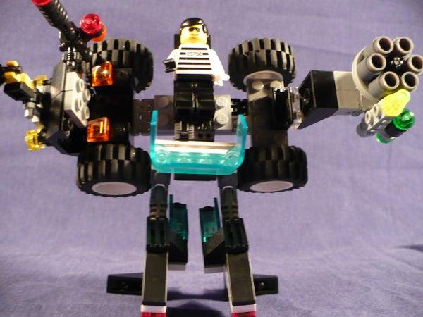 Lego Transformer: Aegis
