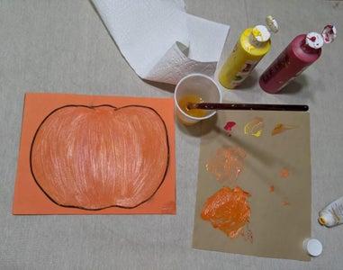 Paint Your Pumpkin (optional)