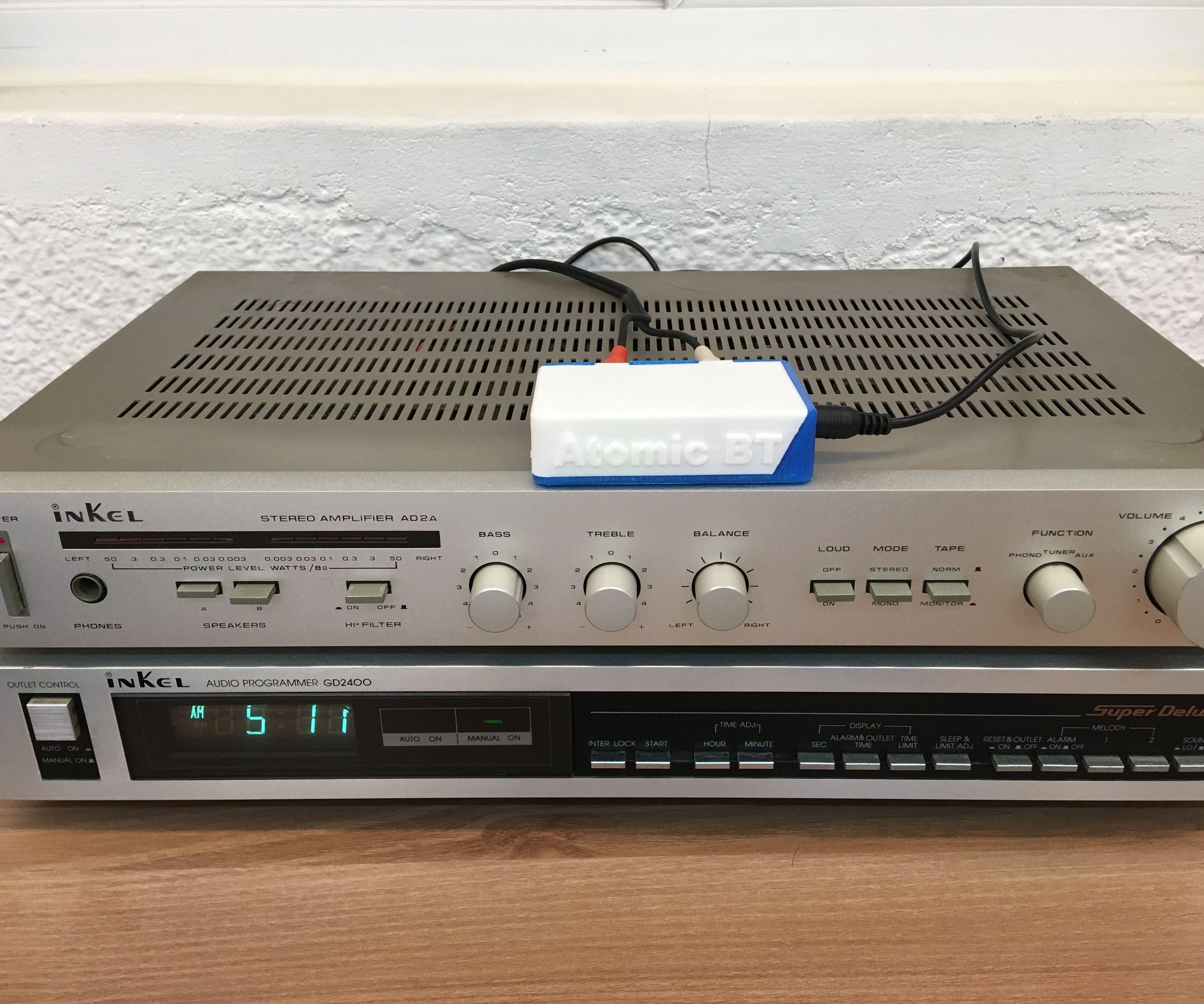 Transforming Vintage Hi-Fi Into a Bluetooth Audio System