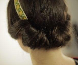 超级简单的花式发型