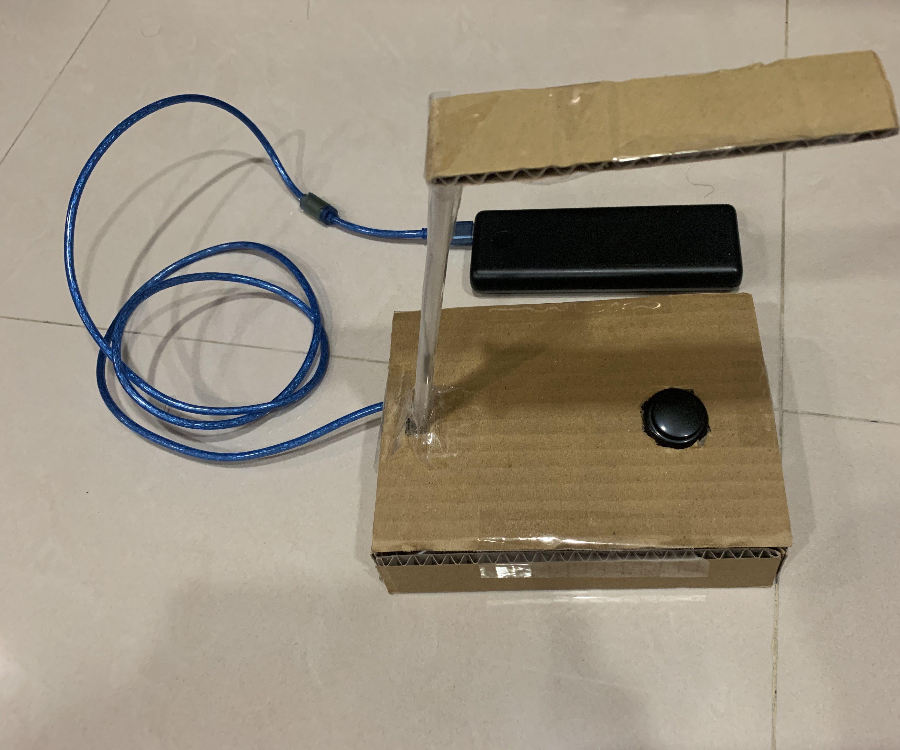 Arduino Lamp Use Button