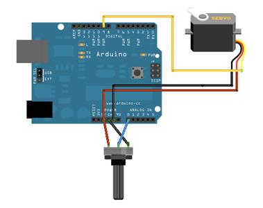 Arduino Aansluiten