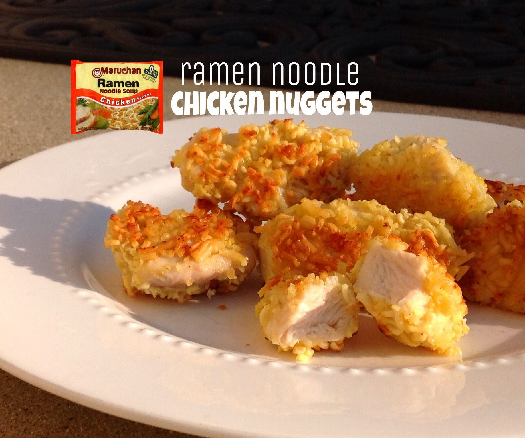 Ramen Noodle Chicken Nuggets