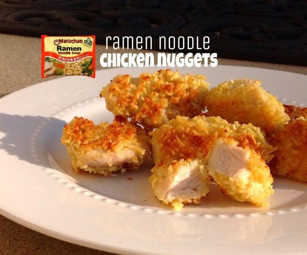Ramen Noodle Chicken Nuggets