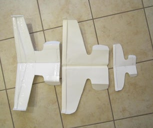 How I Scaled Up a Paper Airplane