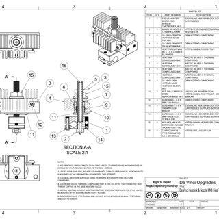 Da Vinci Heatsink & Nozzle MK8 Heat Throat Retrofit Assy MK3 Drawing v3 - Page 1.jpg