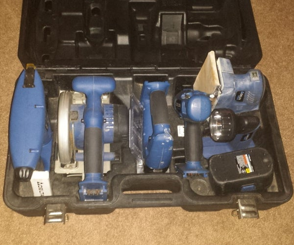 Fixing Good Thrift-store Powertools on the Cheap