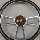 Steering wheel shop clock