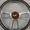 Steering wheel shop clock