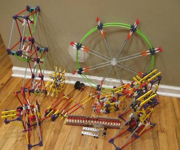 K'nex Ball Machine Concatenation, Elements