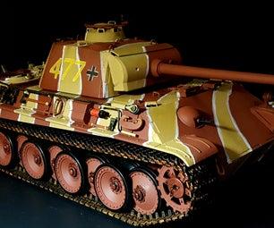 Panther G Rc Tank.