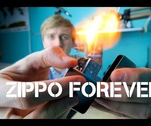 How to Make Your Zippo Lighter Fuel LAST FOREVER