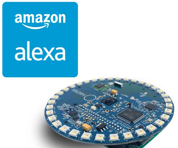 MATRIX Voice and MATRIX Creator Running Alexa (C++ Version)