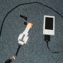 How to charge your mp3 player using Lego mindstroms NXT