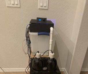 Automated Bioactive Tropical Reptile Vivarium (using Arduino)