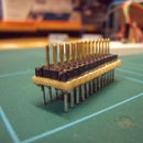 Raspberry PI I/O Breakout cable and plugboard adaptor