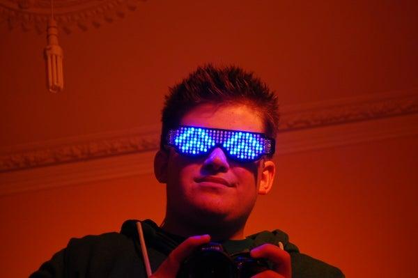 Rave Shades: the Self Assembly LED Glasses Kit.