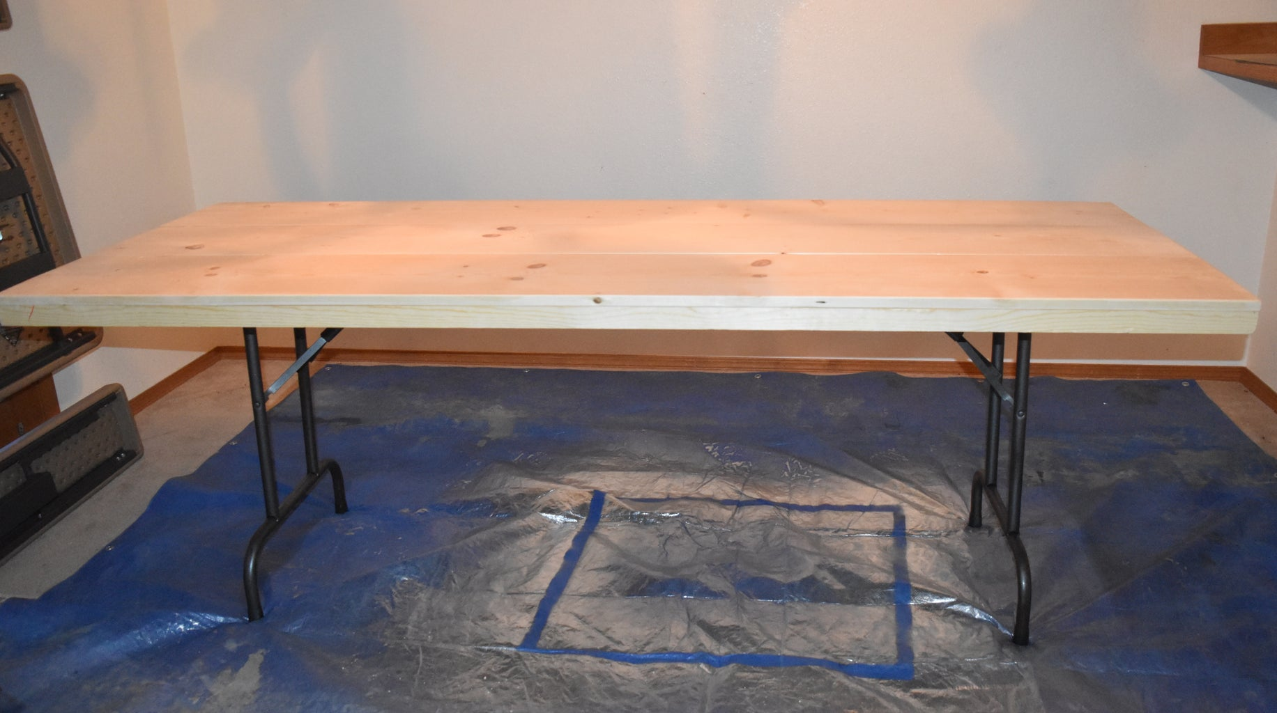 STEP 5: Attach Tabletop to Folding Table