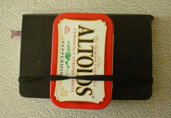 Altoids Tin Watercolor Kit