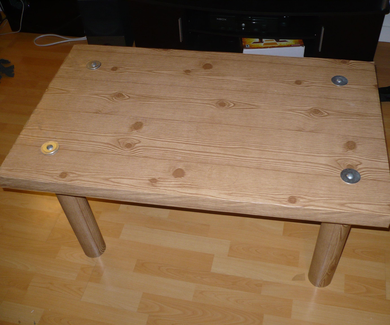 Fake Wood, Cardboard Table