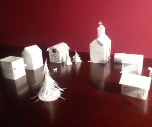 Build a Tiny House of Paper (and Maybe a Village)