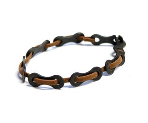 Easy Bike Chain Bracelet