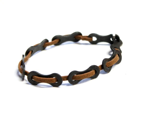 Easy Bike Chain Bracelet