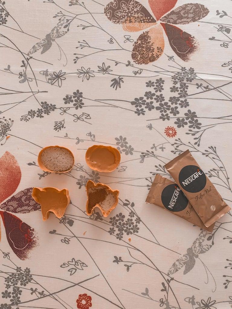 Add Instant Coffee Packets & Pumpkin Pie Spice