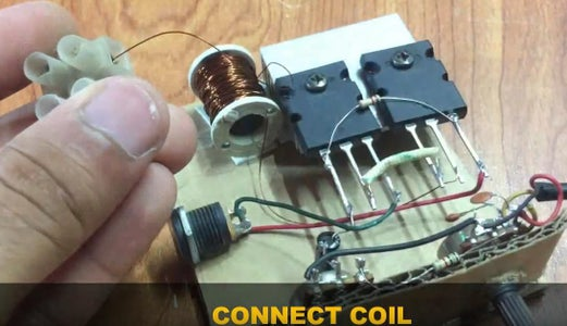 Connect the Positive Terminal With the S1943 Transistor Emitter.